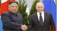 Hội nghị thượng đỉnh Nga-Triều: Nhà lãnh đạo Kim Jong-un mời Tổng thống Vladimir Putin thăm Triều Tiên