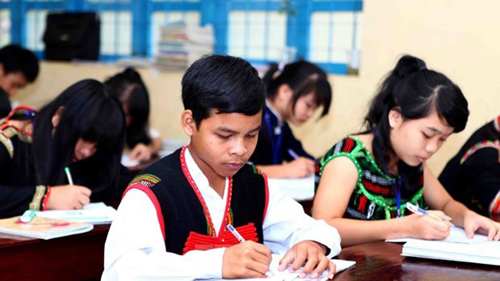 ethnic minority children, access to education, UNESCO, public awareness,  gender-responsive school counseling, education development strategy