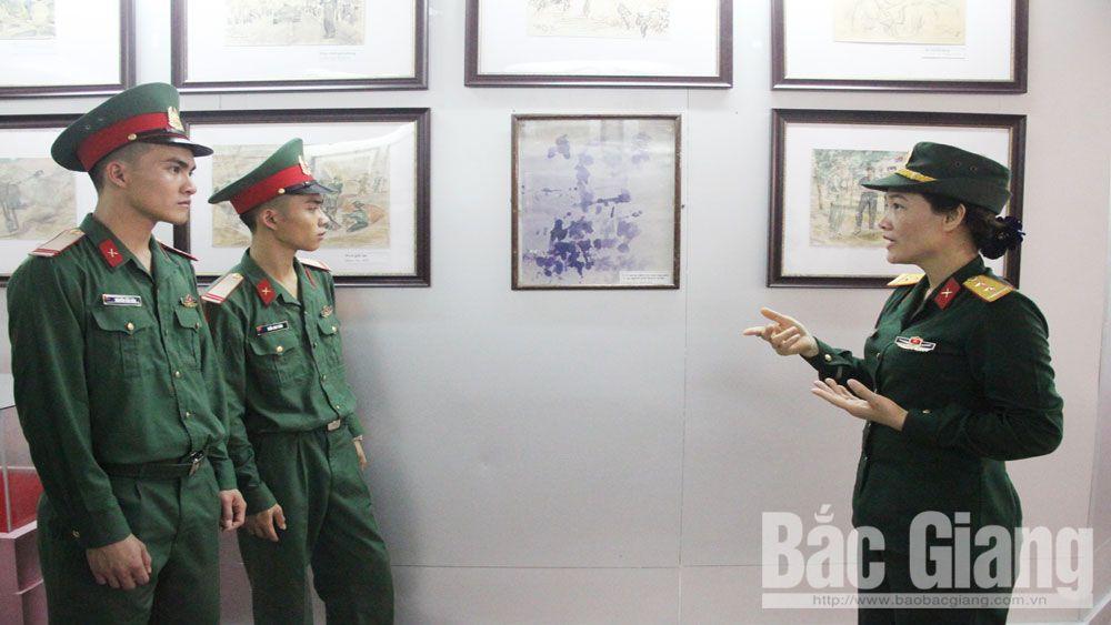 """Bức huyết họa """"biết kể chuyện"""" của họa sĩ Lê Duy Ứng"""