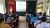 Lục Nam tập huấn phần mềm quản lý đoàn viên