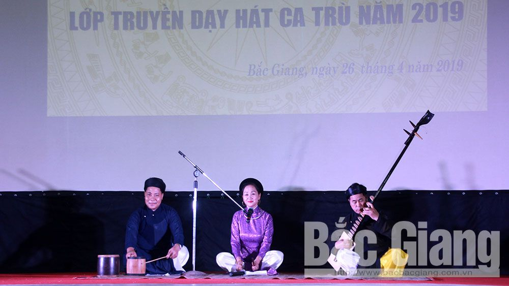 Bắc Giang, văn hóa, ca trù, di sản phi vật thể, Yên Dũng, Lục Nam, Việt Yên