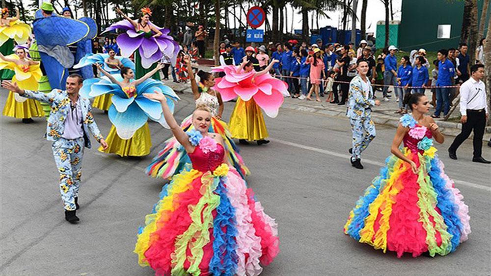 Hơn 200 nghệ sĩ sẽ diễu hành Carnaval tại Hạ Long dịp nghỉ lễ