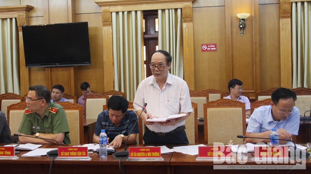 HĐND tỉnh Bắc Giang, Bùi Văn Hải, Bùi Văn Hạnh, Thường trực HĐND tỉnh họp thường kỳ tháng 4