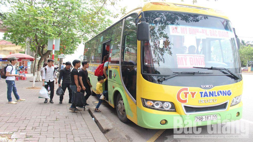 Các nhà xe ở Bắc Giang đồng loạt tăng giá cước vận tải
