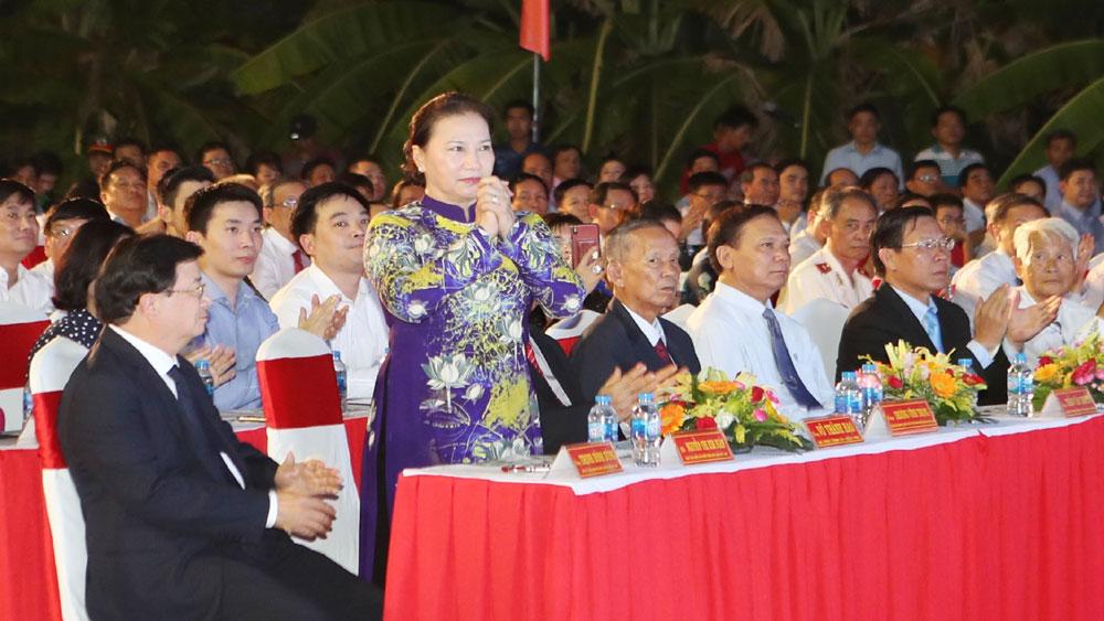 Chủ tịch Quốc hội Nguyễn Thị Kim Ngân, Lễ công bố, quyết định công nhận thành phố Bến Tre, đô thị loại II