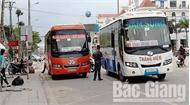 Vận tải hành khách tại Bắc Giang ngày đầu nghỉ lễ 30-4, 1-5: Nhiều xe khách vi phạm