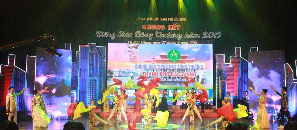 Cuộc thi Tiếng hát sông Thương, TP Bắc Giang, tỉnh Bắc Giang