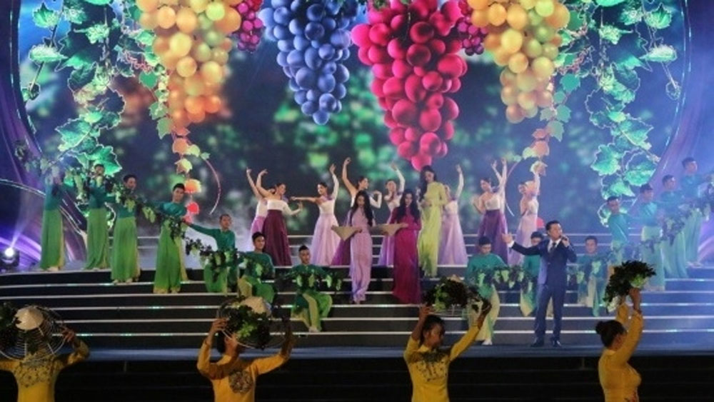 Grape and wine festival opens in Ninh Thuan province