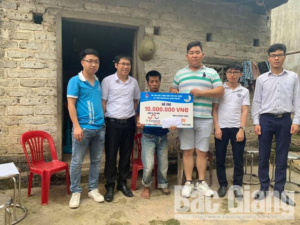 Bắc Giang, đoàn viên, sống trẻ, thanh niên, tặng quà, tình nguyện