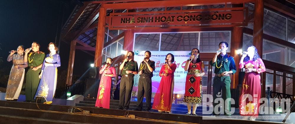 Người cao tuổi, giao lưu thơ ca, Công viên Hoàng Hoa Thám, TP Bắc Giang