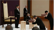 Hình ảnh tân Nhật hoàng Naruhito lên ngôi