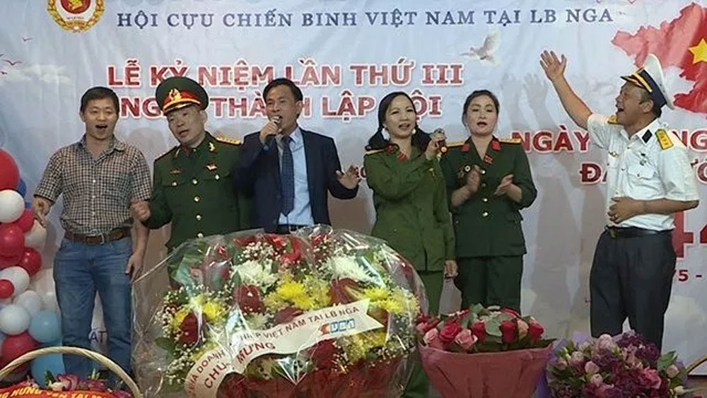 Vietnamese veterans in Russia mark national reunification