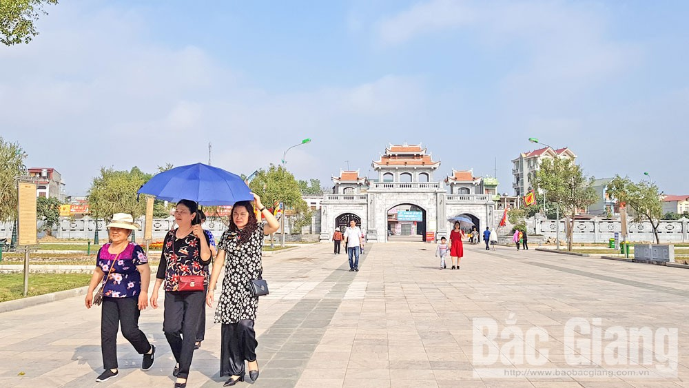TP Bắc Giang,  du lịch tâm linh, nghỉ dưỡng, du khách, di tích lịch sử, văn hóa