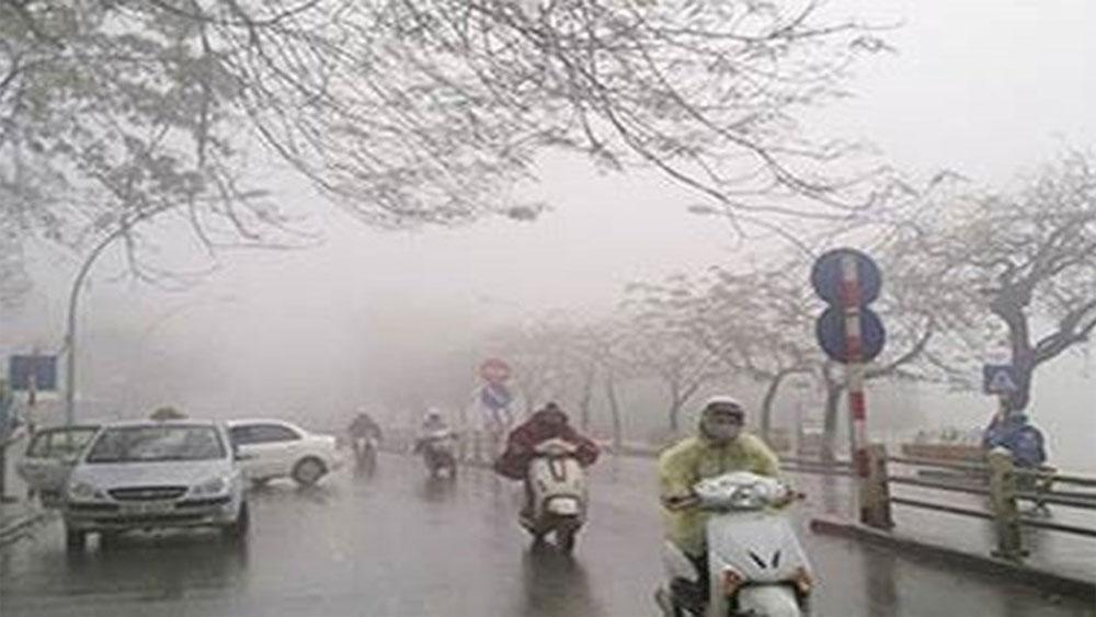 Cảnh báo lốc, sét, gió giật mạnh ở các tỉnh phía Bắc