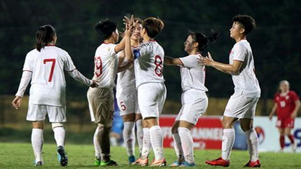 Vietnamese U19 women's team advance to Asian champ's final round