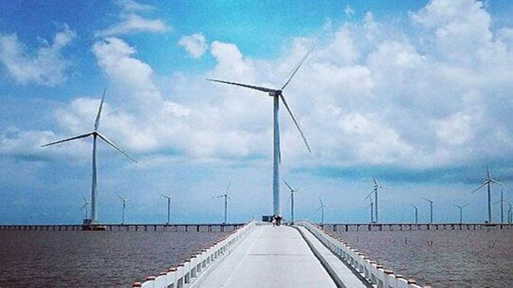 Vietnam's 4 major wind farms