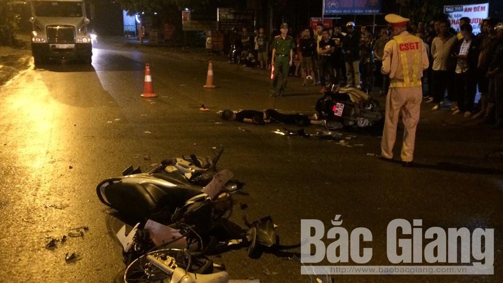 Tỉnh Bắc Giang, Tai nạn giao thông, Tử vong do tai nạn giao thông, tử vong