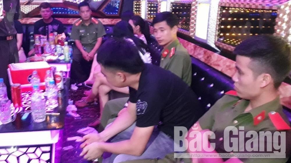 karaoke, sử dụng ma túy, Bắc Giang