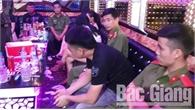 Phát hiện 11 đối tượng sử dụng ma túy tại quán hát ở TP Bắc Giang