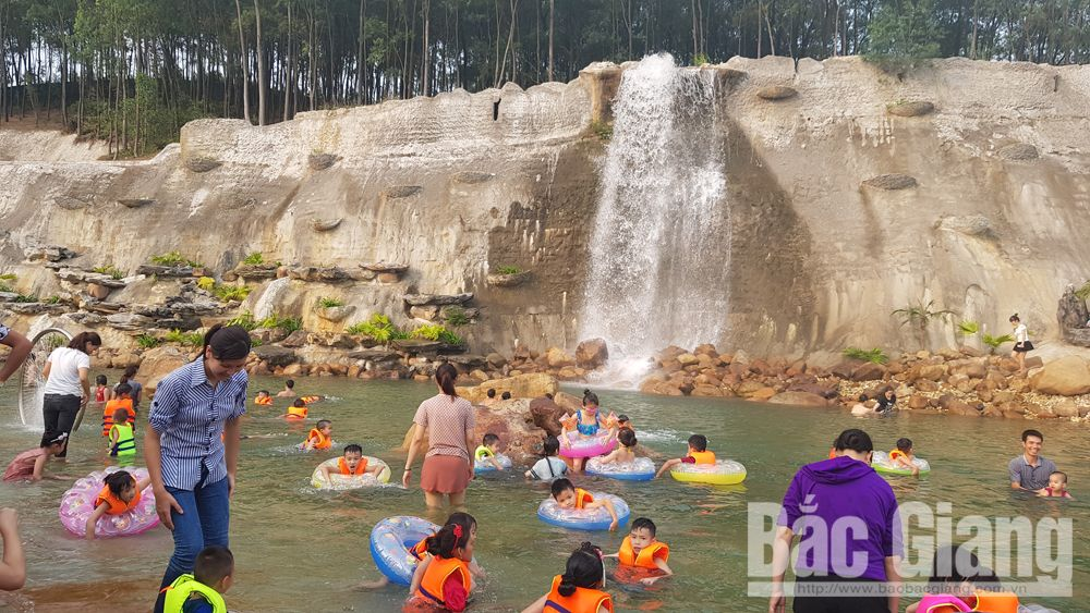 Bac Giang city, spiritual and leisure tourism, landscape highlights, historical and cultural relic sites, Xuong Giang Victory Historical Site, Hoang Hoa Tham Park, attractive destination