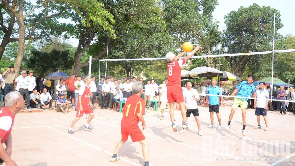 Bắc Giang, bóng chuyền hơi, môn thể thao, vui, khỏe