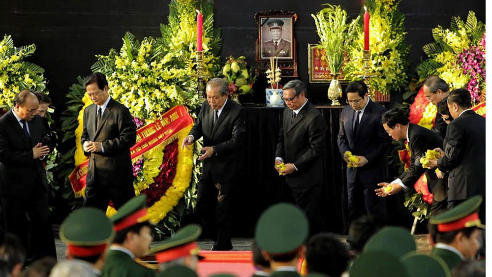 Lễ an táng nguyên Chủ tịch nước Lê Đức Anh tại TP Hồ Chí Minh