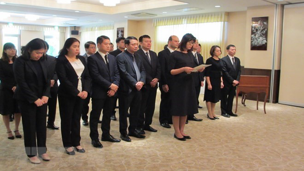 Tribute-paying ceremonies for former President Le Duc Anh held abroad