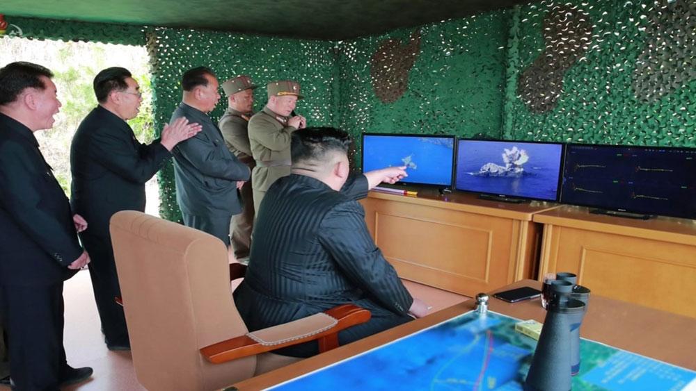 Triều Tiên, công bố, các loại vũ khí vừa thử nghiệm