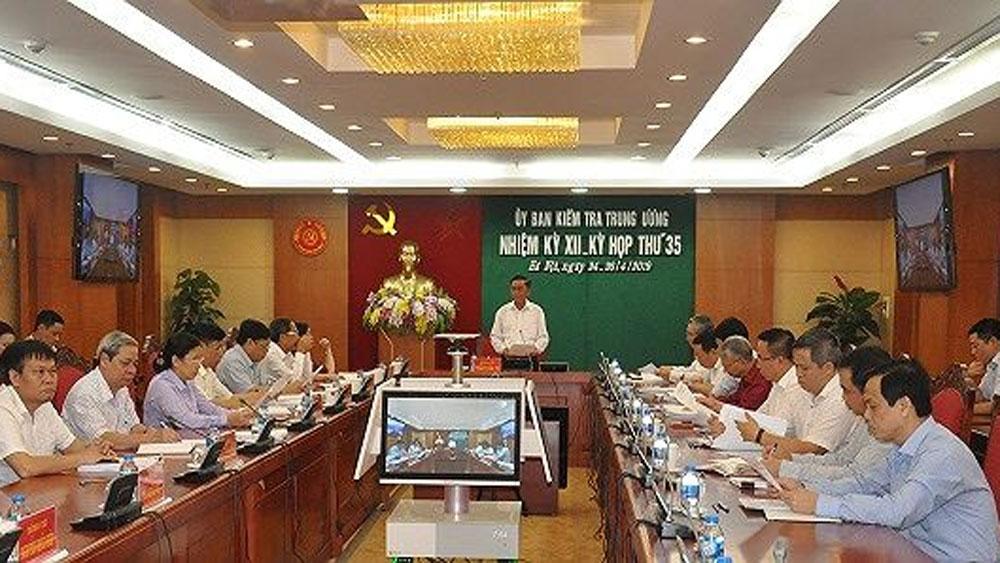 Ủy ban Kiểm tra Trung ương kết luận vi phạm tại Bộ Giao thông-Vận tải, Quân chủng Hải quân và một số cá nhân