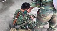 Xe quân sự bị lật ở Quốc Oai, hàng chục chiến sĩ bị thương
