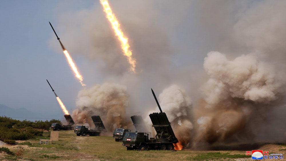 Hàn Quốc, nhận định, Triều Tiên thử vũ khí, dẫn đường chiến thuật mới, giàn phóng rocket mới