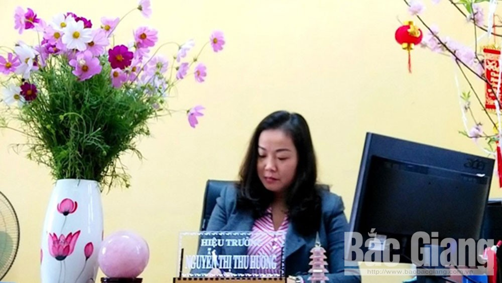 Cô Nguyễn Thị Thu Hường, Nhà giáo tiêu biểu, Trường Tiểu học Nguyễn Khắc Nhu, Thành phố Bắc Giang