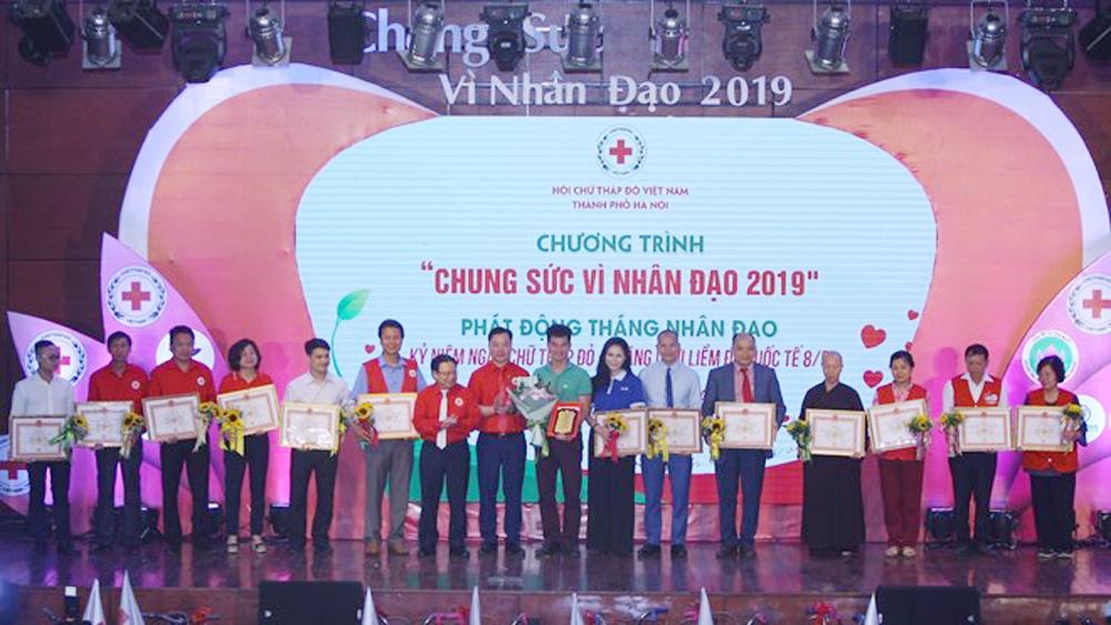 Hanoi Red Cross launches humanitarian month