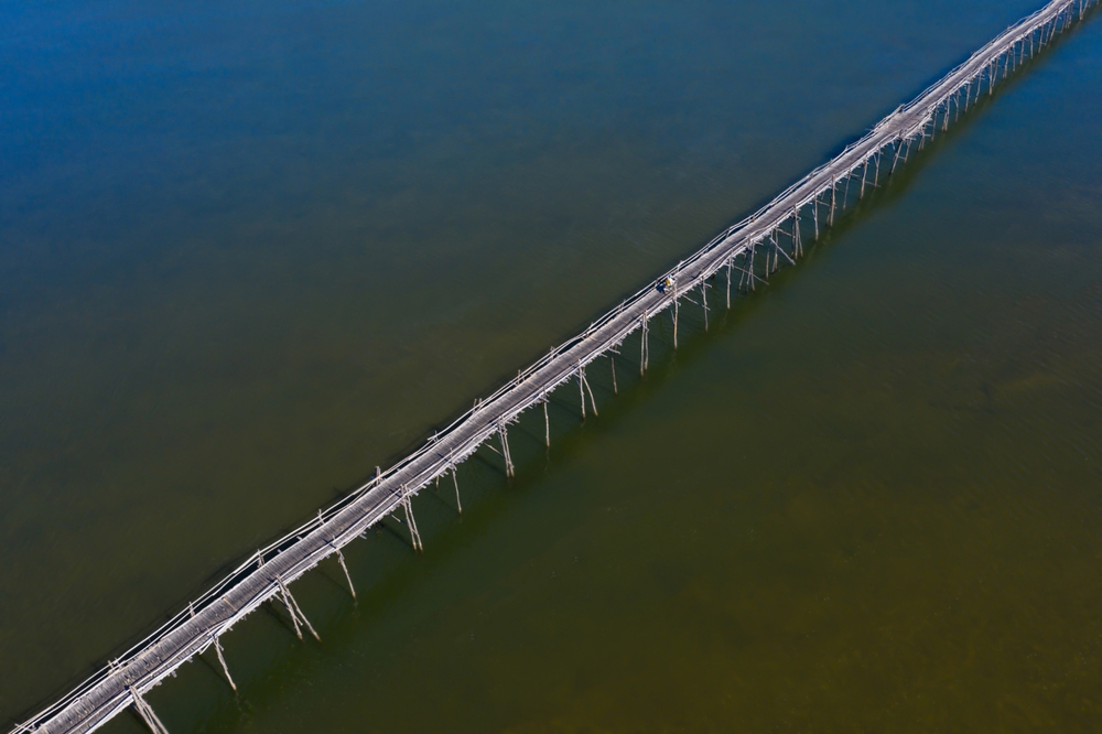 Longest temporary bridge, Vietnam, permanent memories, annually repaired bridge, Binh Thanh Bridge, God of Tiger Bridge
