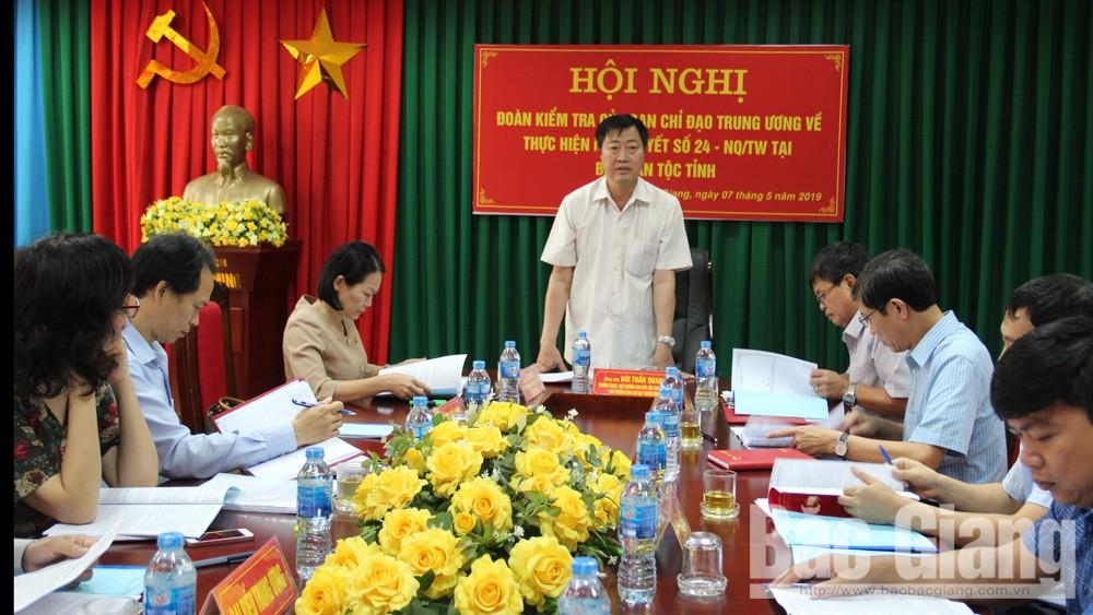 Tiếp tục tham mưu, triển khai thực hiện tốt các chính sách dân tộc tại địa phương