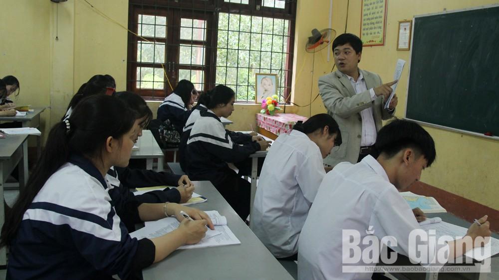 Bắc Giang, Trần Tuấn Nam, Giám đốc Sở Giáo dục và Đào tạo, kỳ thi THPT quốc gia tỉnh Bắc Giang