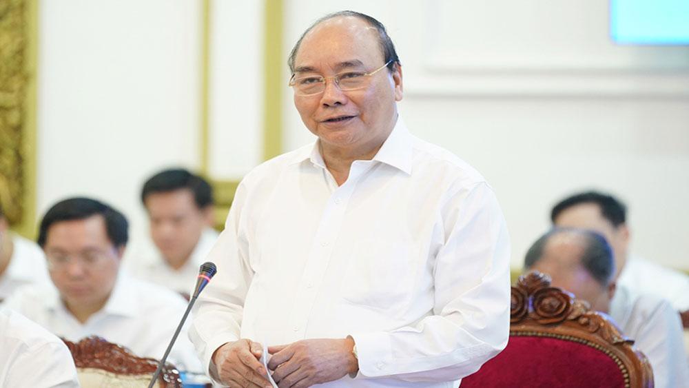 Thủ tướng chủ trì họp Tiểu ban KT-XH Đại hội XIII của Đảng với một số địa phương