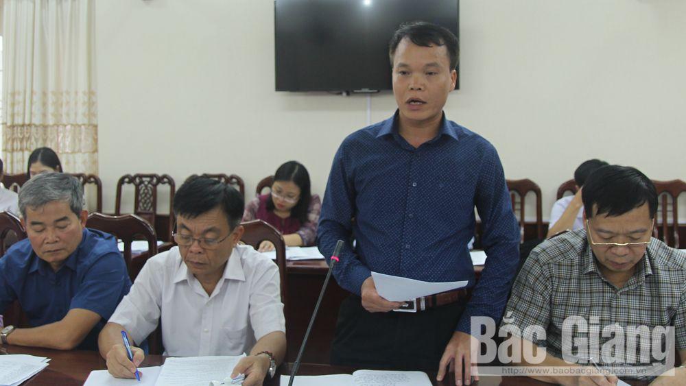 HĐND tỉnh Bắc Giang, Giám sát, Luật tổ chức chính quyền địa phương, Thành phố Bắc Giang