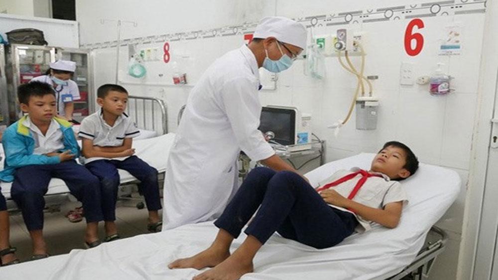 Hàng chục học sinh nhập viện, uống sữa,  rối loạn tiêu hóa, thức uống Nestle MILO, Trường Tiểu học Ninh Quý