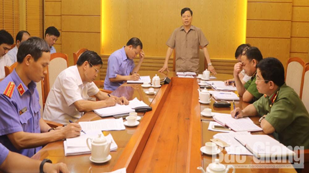 Thành ủy Bắc Giang, Bí thư Thành ủy Nguyễn Sỹ nhận, Thành phố Bắc Giang