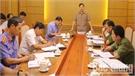 Bí thư Thành ủy Bắc Giang Nguyễn Sỹ Nhận làm việc với các cơ quan tư pháp của thành phố