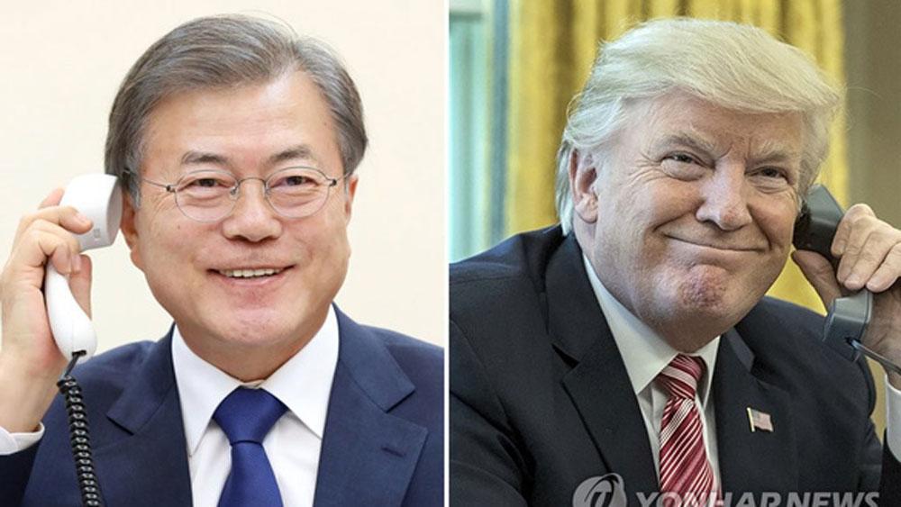 Mỹ, ủng hộ, Hàn Quốc, viện trợ lương thực cho Triều Tiên,