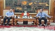 Quận Phụng Hiền (Trung Quốc) mong muốn hợp tác, đầu tư tại Bắc Giang