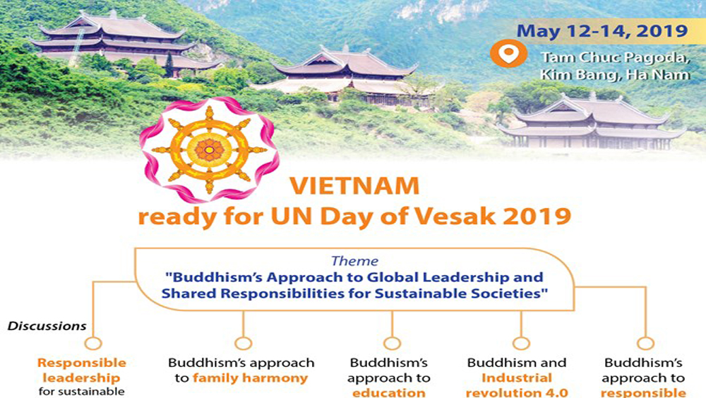 Vietnam ready for UN Day of Vesak 2019
