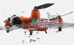 Drone có thể bơi lặn dưới nước, quay phim chất lượng 4K