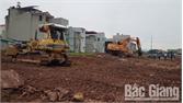 Thành phố Bắc Giang tổ chức cưỡng chế thu hồi đất ở xã Tân Mỹ