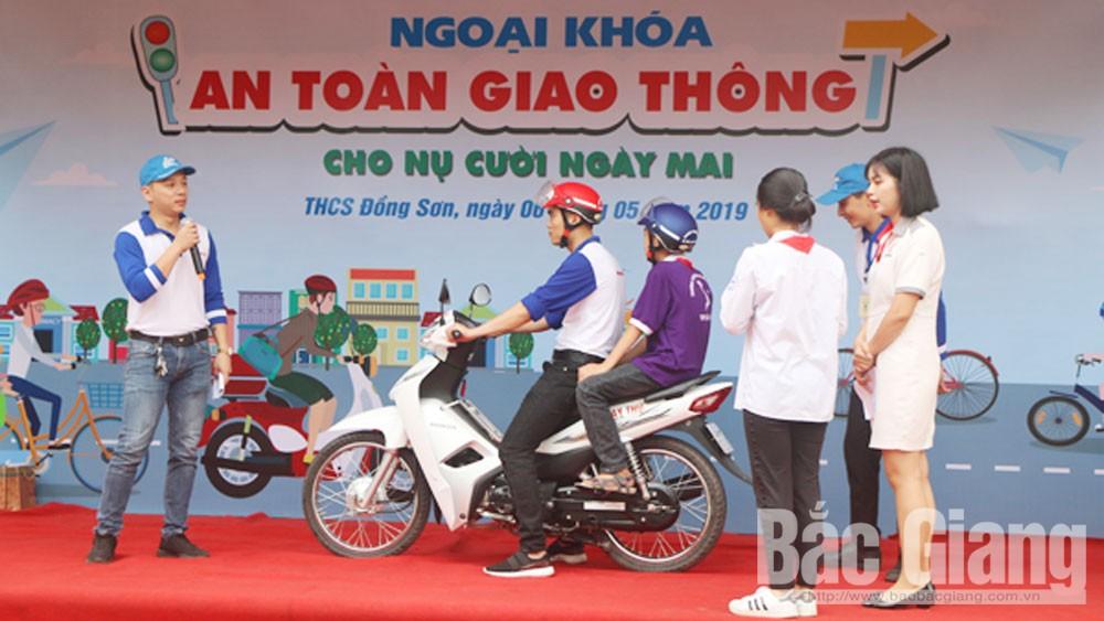 An toàn giao thông, Trường THCS Đồng Sơn, Thành phố Bắc Giang