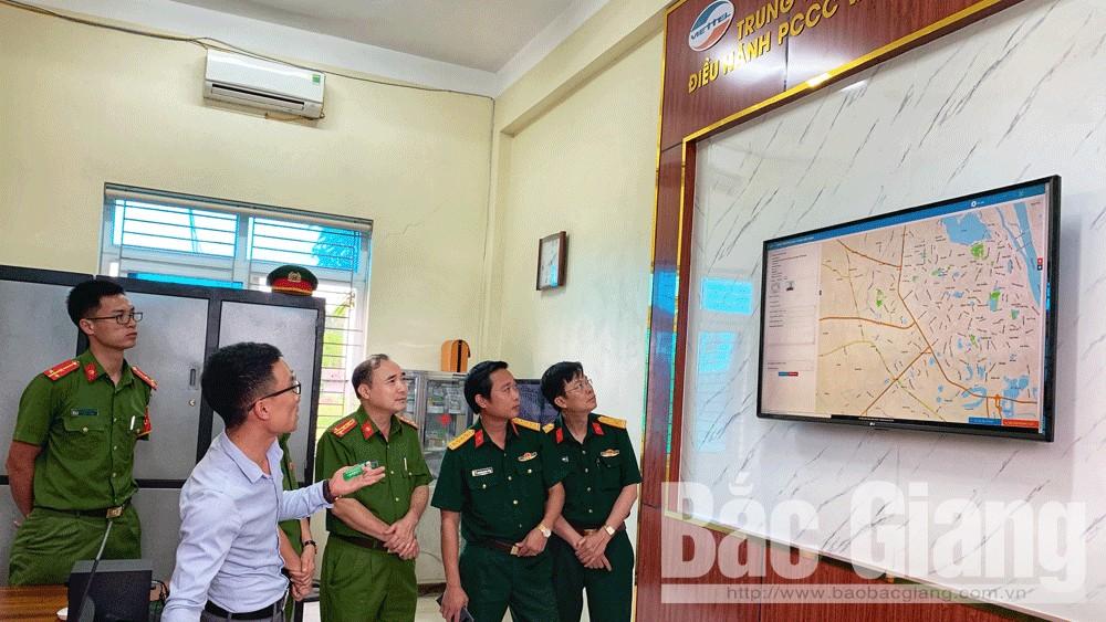 Safeone, cháy nổ, điều hành, viettel, Bắc Giang