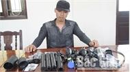 Công an Tân Yên bắt giữ vụ vận chuyển linh kiện vũ khí qua đường bưu điện