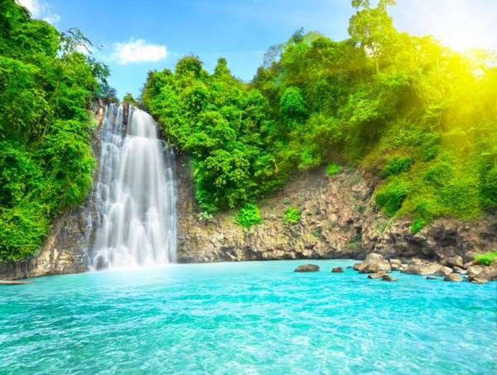 Vietnamese waterfalls, world's most beautiful, most charming waterfalls,  US Microsoft, Ban Gioc Waterfall, Dambri Waterfall